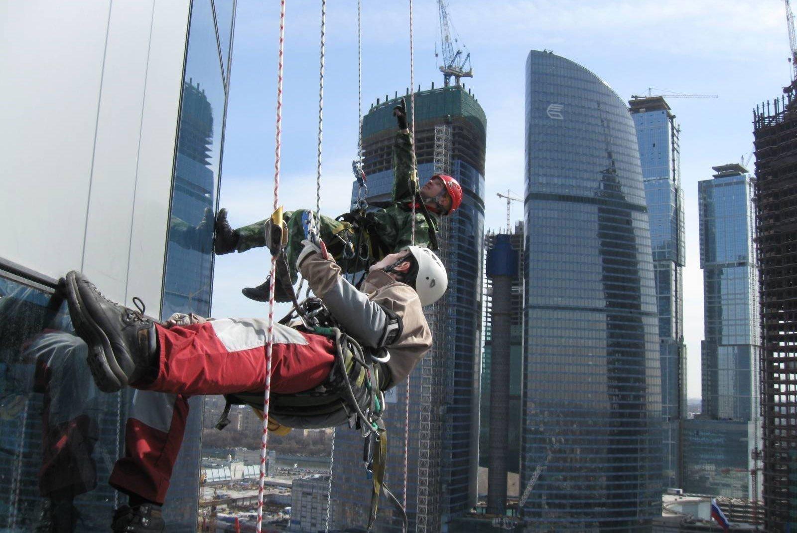 Обучение работников безопасность при работе на высоте