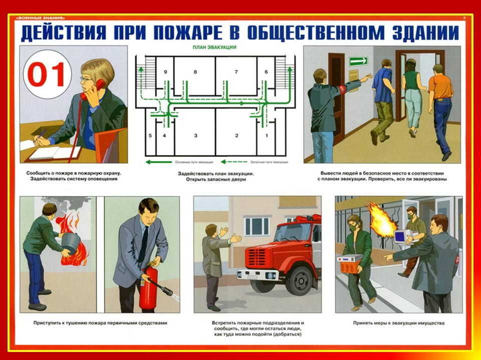 Пожарная безопасность в общественных зданиях и сооружениях, обучение специалистов и руководителей по пожарной безопасности