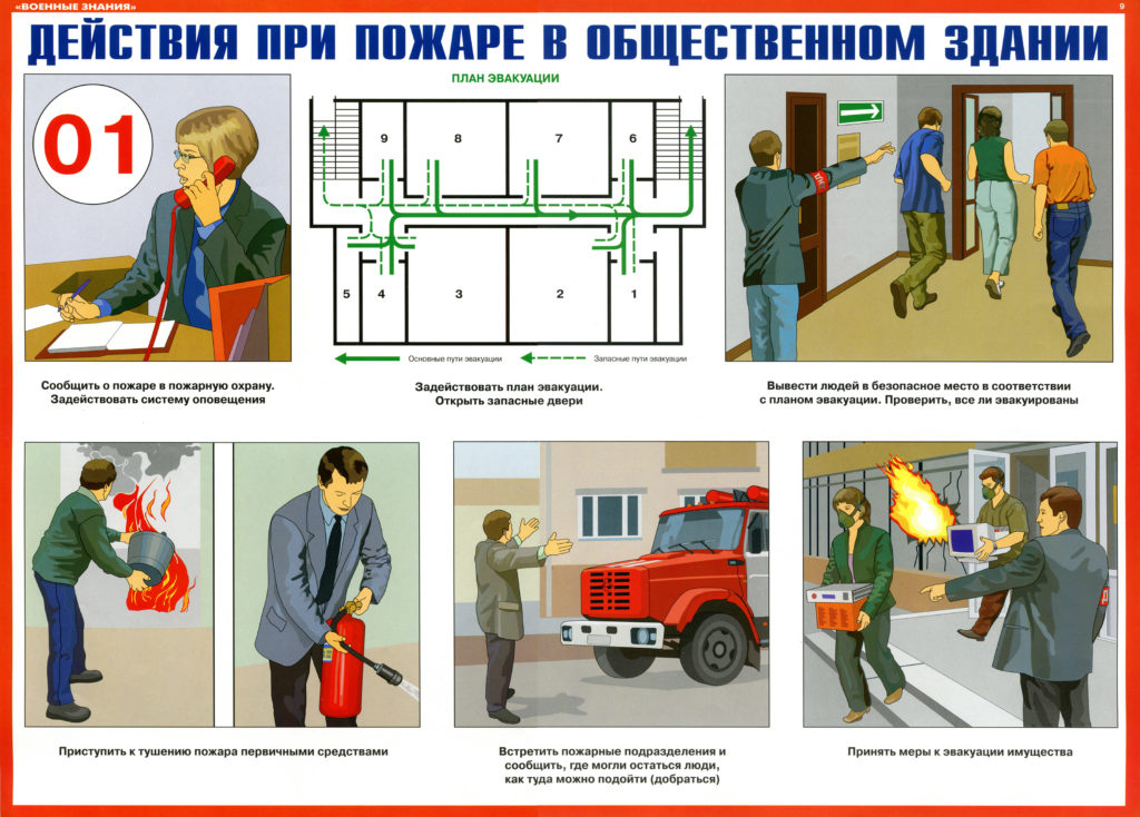 Обучение ПТМ пожарно-технический минимум очно и дистанцинно